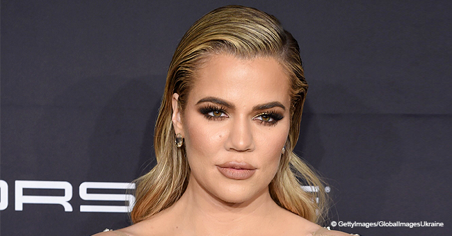 Khloé Kardashian Bares Her Flat Tummy in a Barely-There Bra, Causing Debate over Weight Loss Ad