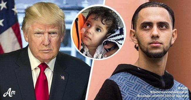 La famille blâme l'interdiction de voyager de Trump pour avoir retardé cette mère de voir son fils mourant, âgé de 2 ans