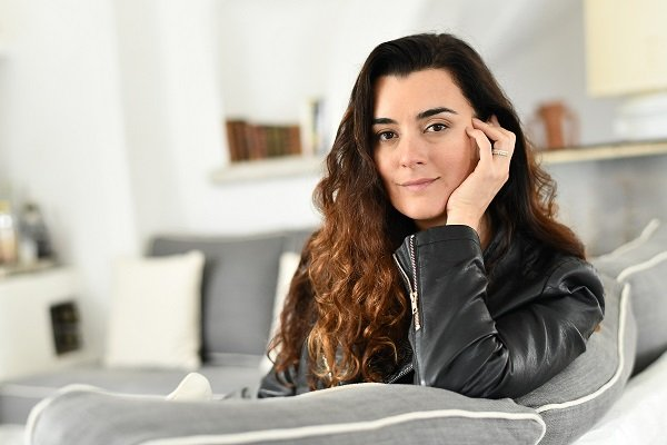 Cote De Pablo on May 2, 2018 in Sestri Levante, Italy | Source: Getty Images