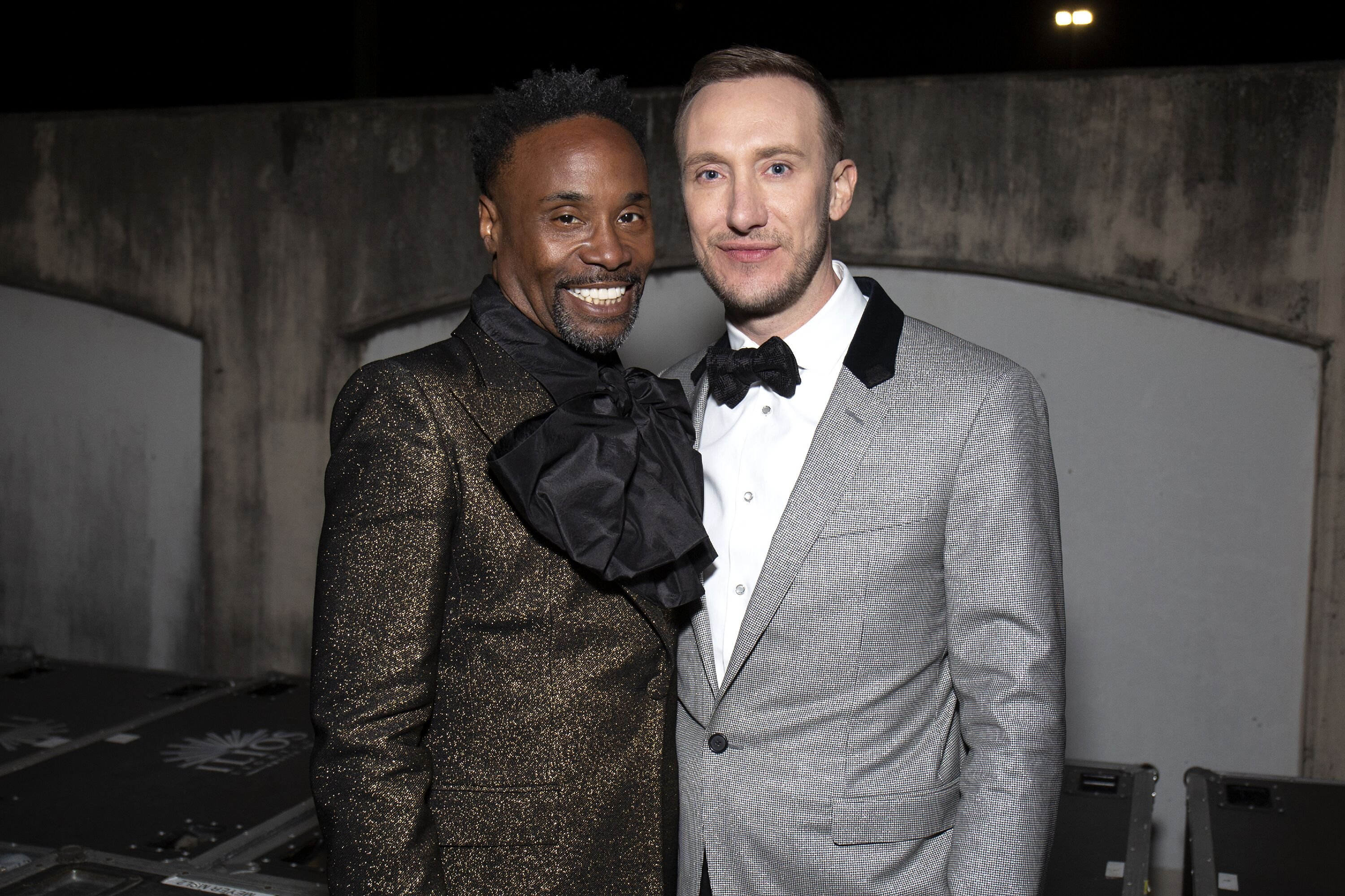 Billy Porter and Adam Smith attend a red carpet event together | Source: Getty Images/GlobalImagesUkraine