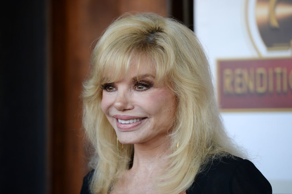 Loni Anderson pictured at the Southern California location of Michael Feinstein's new supper club Feinstein's at Vitello's, 2019, California. | Photo: Getty Images