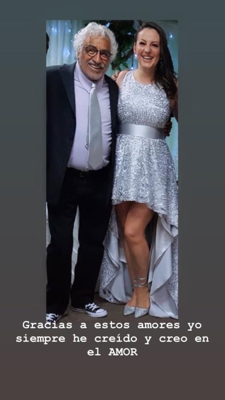 Iclán y su esposa. | Imagen: Instagram/ adrianalavat