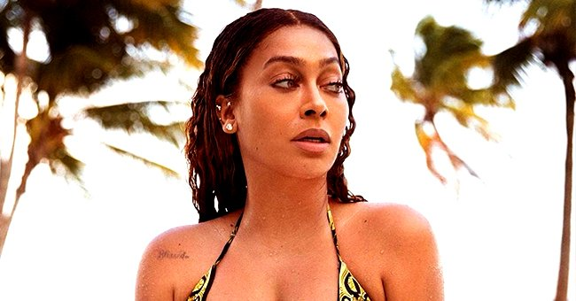 La La Anthony Heats up Social Media as She Flaunts Curves in Cheetah-Print Swimsuit in Pics from DR Getaway