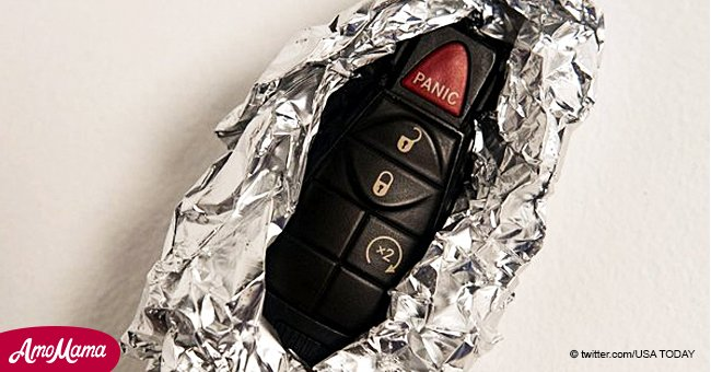 Here is why you should always wrap your key fob in tin foil to avoid theft