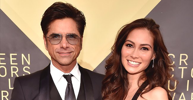 John Stamos & Wife Caitlin McHugh Recreate Pottery Scene from 'Ghost' on Their 2nd Wedding Anniversary