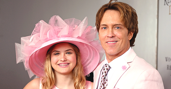 Late '90s Model Anna Nicole Smith's Daughter Dannielynn Smiles in Pics with Dad Larry Birkhead