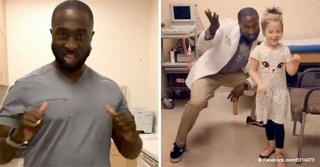 Meet the 'Dancing Doc' who makes sick kids smile with his energetic moves in sweet videos