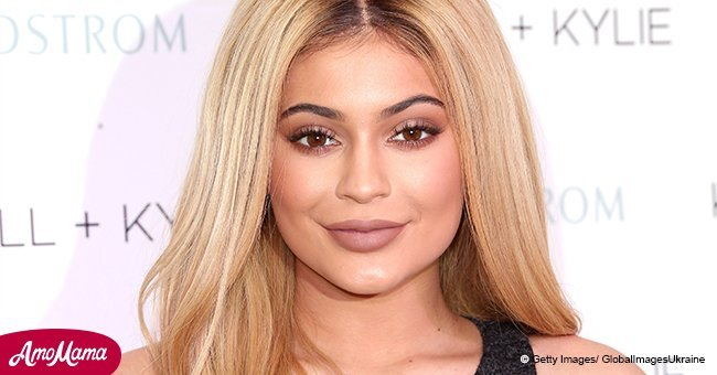 Kylie Jenner flaunts her curvy figure in a tight brown ensemble in recently shared photos