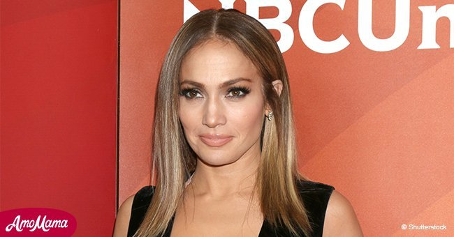 Jennifer Lopez shows off her new stylish haircut in a sparkling dress at a recent red carpet