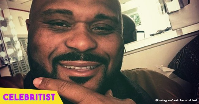 Ruben Studdard steals hearts with photo of his smiling mom, showing off their resemblance