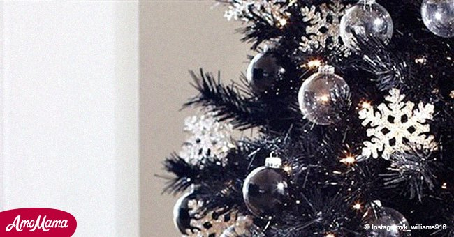 Have you ever seen a black Christmas tree? It's become the new holiday trend this season