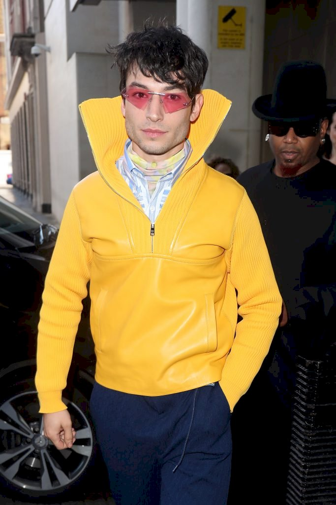Ezra Miller at BBC Radio One promoting 'Fantastic Beasts: The Crimes of Grindelwald' Source | Photo Getty Images