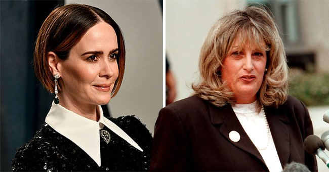 Sarah Paulson Looks Unrecognizable in Latest Role as 'American Crime Story: Impeachment's Linda Tripp