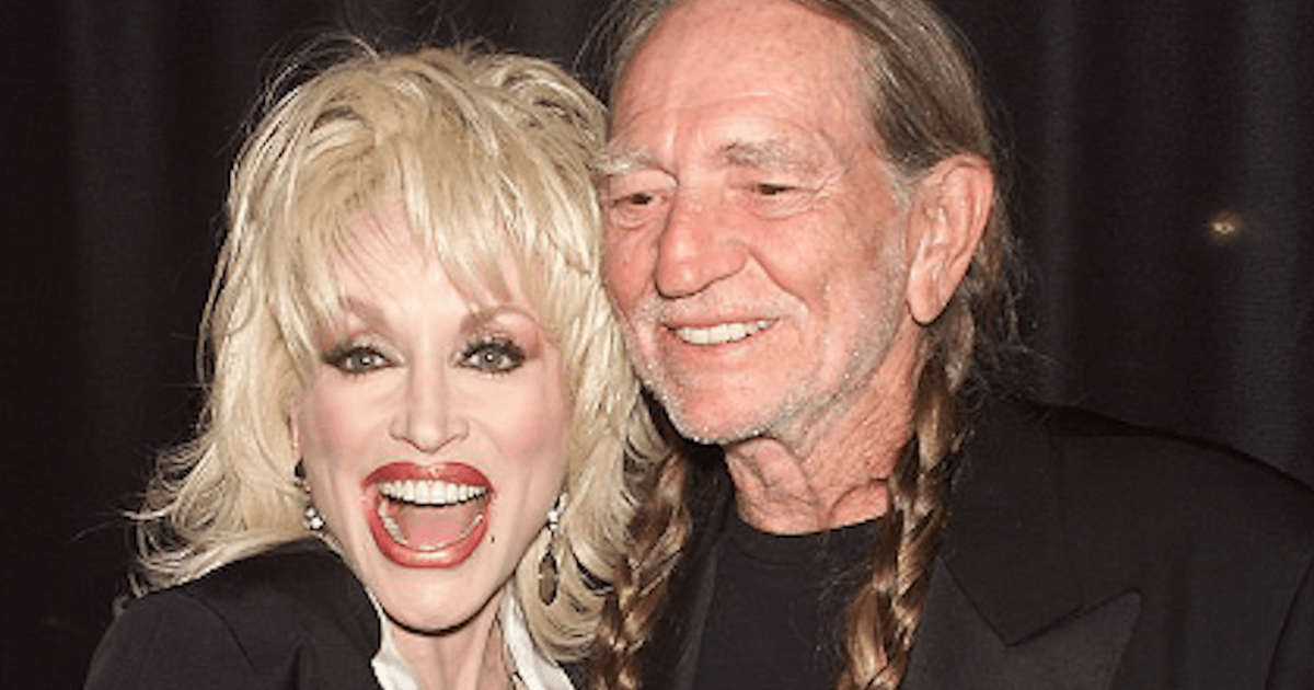 Dolly Parton and Willie Nelson. Image Credit: Getty Images
