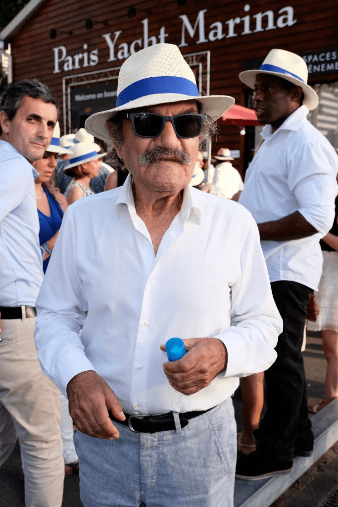 "Gérard Hernandez assiste à la ""Pétanque Gastronomique"" animée par Daniel Lauclair à la Marina de Paris Yacht le 27 juin 2019 à Paris, France. 
