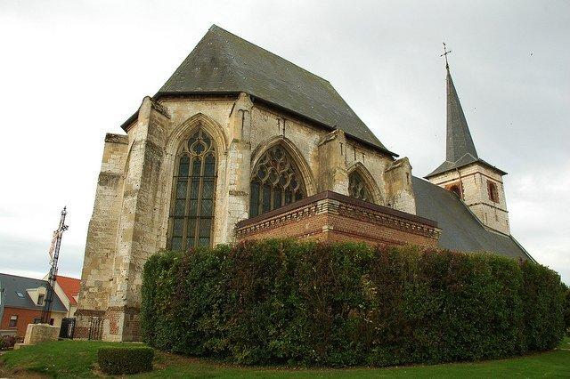 L'église de Feuquières. l Source: Flickr