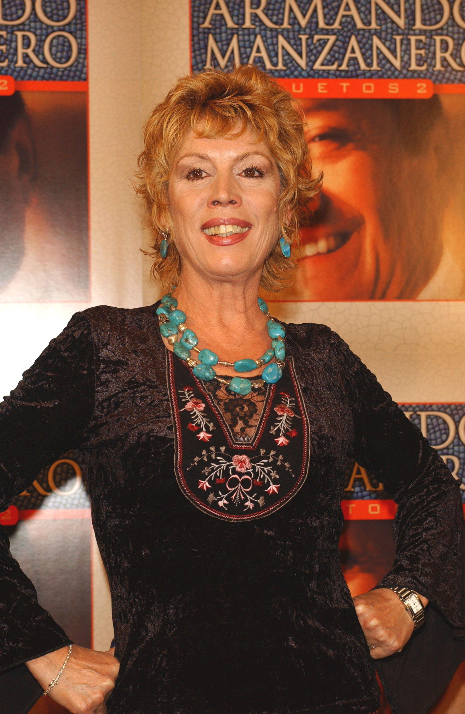 María Jiménez en 2002. || Fuente: Getty Images