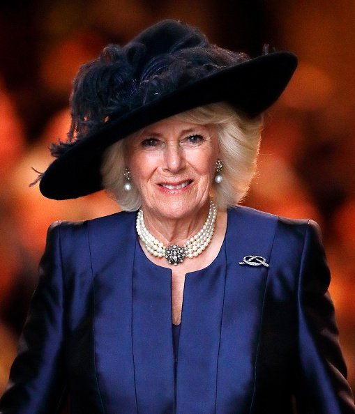 Camilla, Duchess of Cornwall, at Westminster Abbey on March 9, 2020 in London, England. | Photo: Getty Images