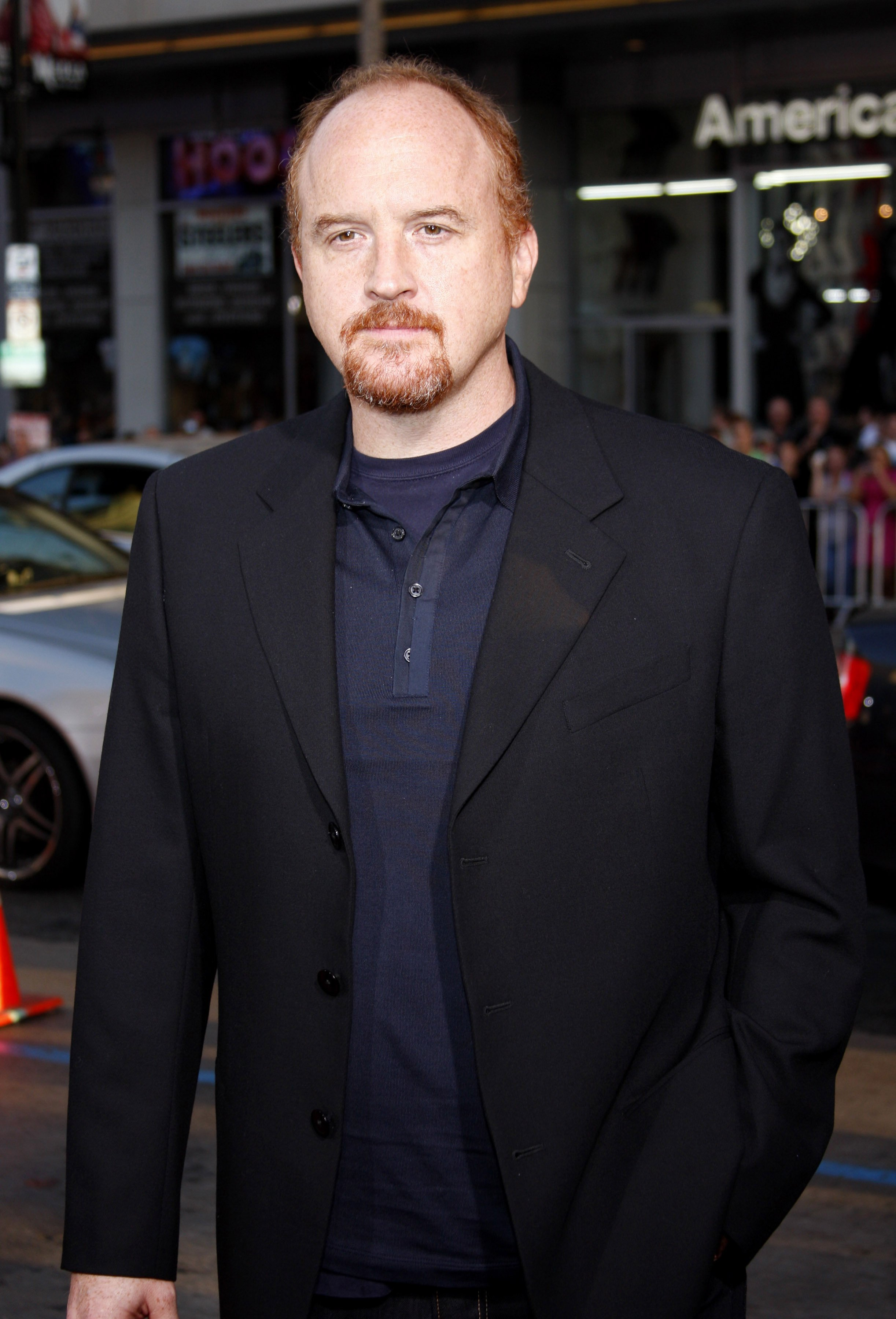 Louis C.K. at the Los Angeles premiere of 'The invention of lying.' | Image credit: Shutterstock