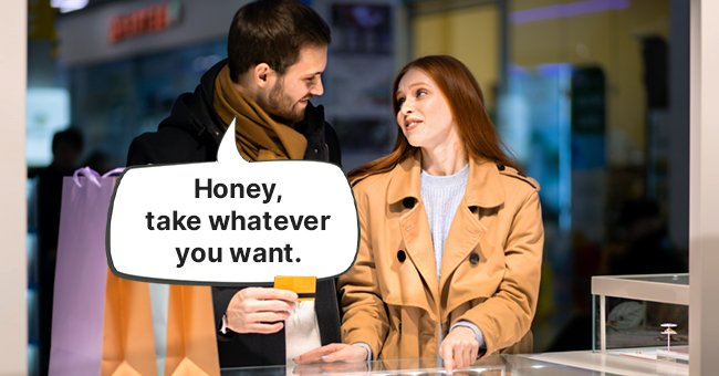 Daily Joke: Husband Taught His Wife a Lesson by Taking Her to an Expensive Store