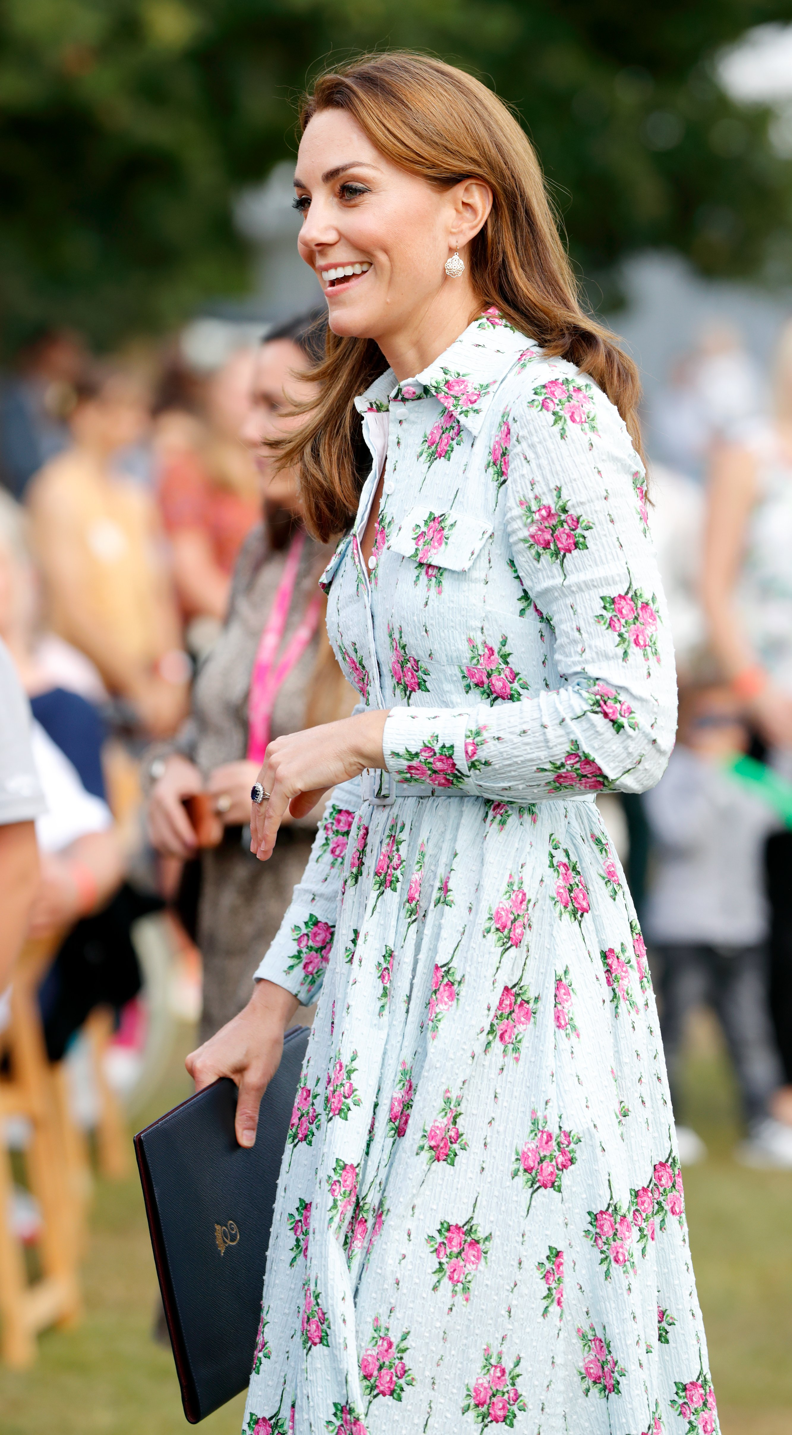 "La duchesse Kate au festival ""Back to Nature"" à Woking, Angleterre | Photo: Getty Images"