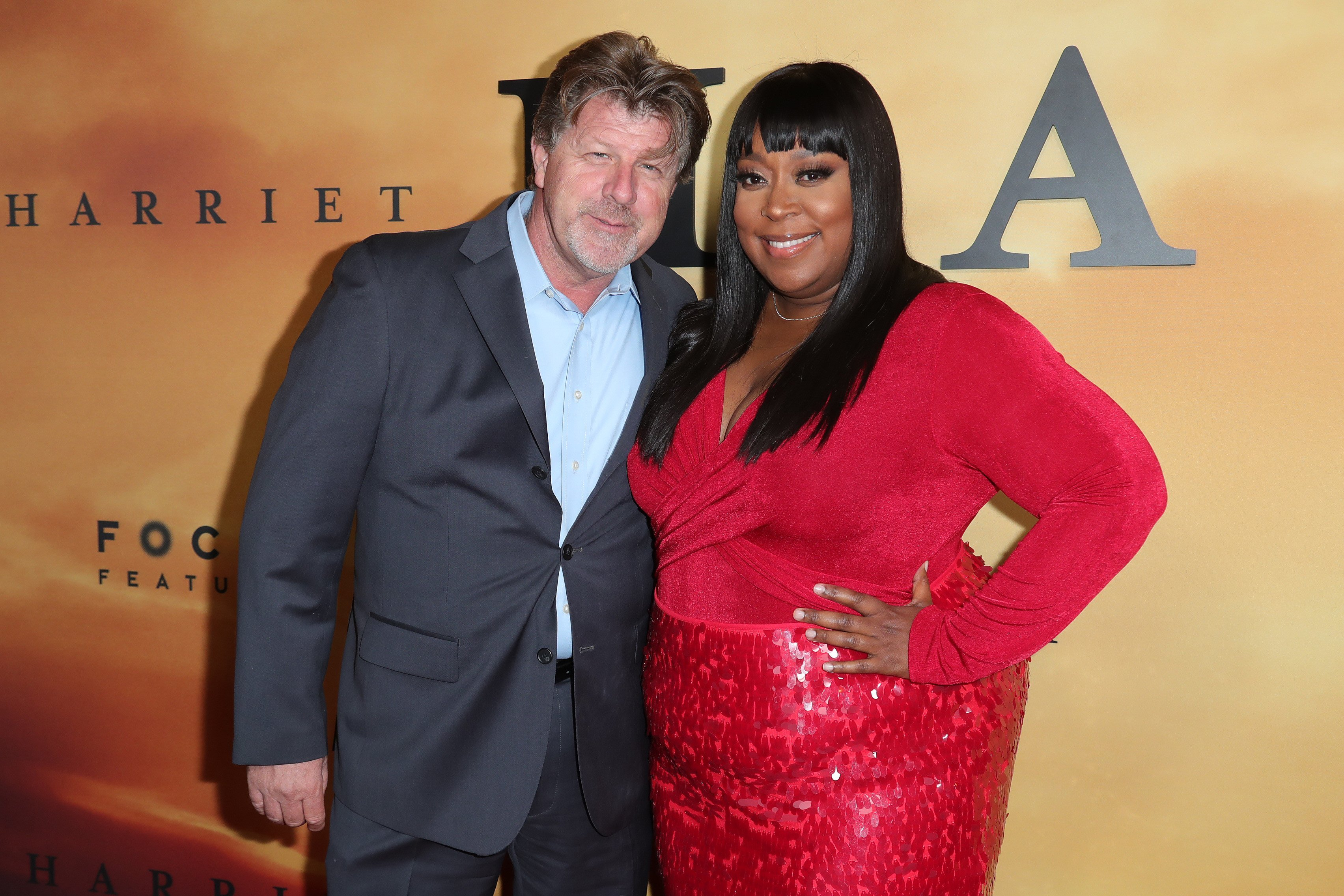 """James Welch and Loni Love attend Premiere Of Focus Features' """"Harriet"""" at The Orpheum Theatre   Photo: Getty Images"""