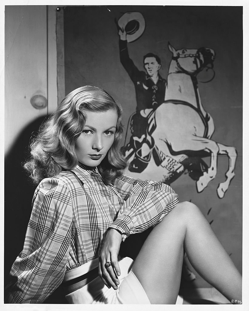 Portrait of American Actress Veronica Lake on January 01, 1945 | Photo: Getty Images