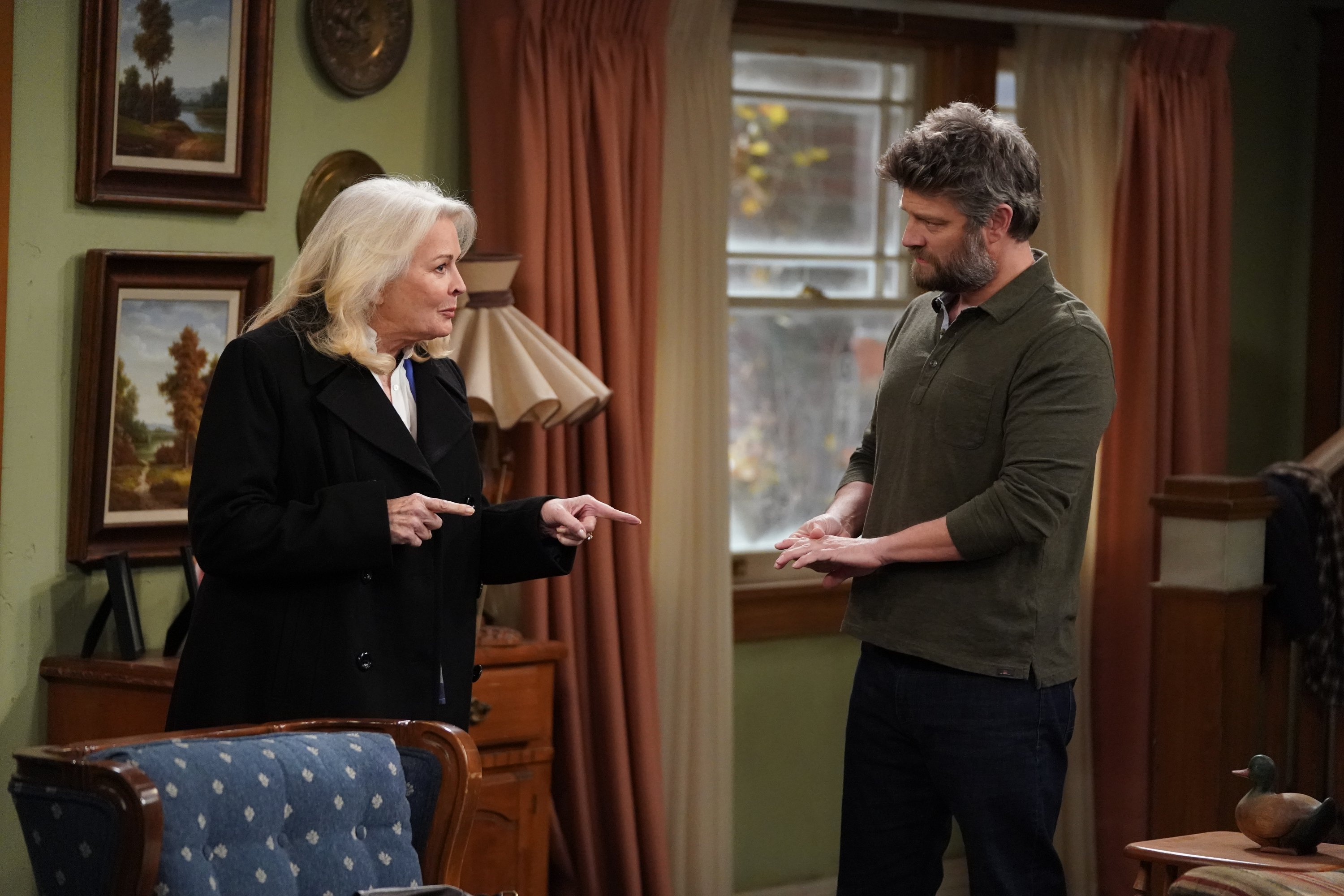 """Candice Bergen guest stars in season 3 of """"The Conners"""" on January 13, 2020. 