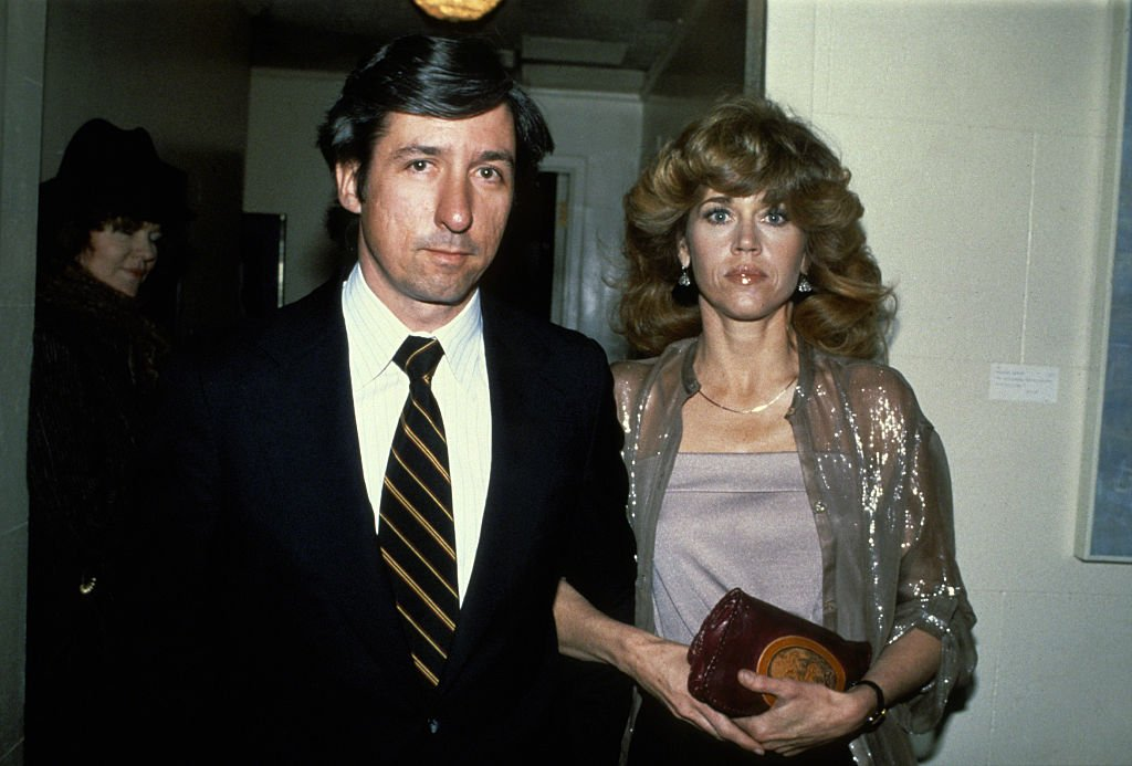 """Jane Fonda and Tom Hayden at the Los Angeles Premiere of """"The China Syndrome"""" on January 01, 1979 