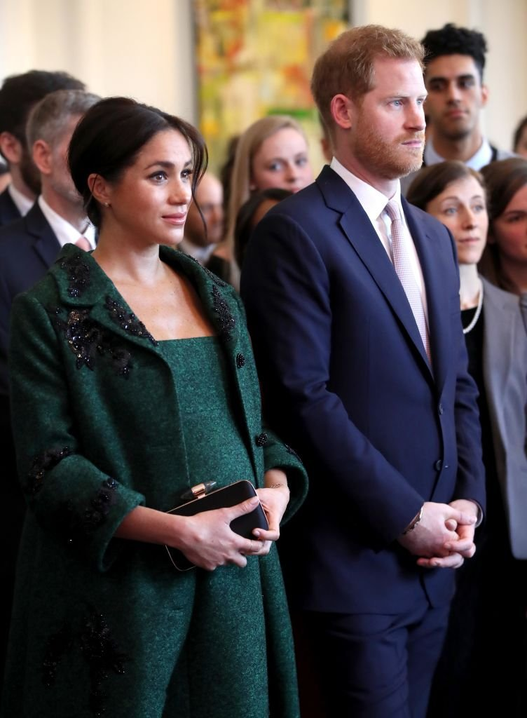 Meghan, Duchess of Sussex and Prince Harry, Duke of Sussex watch a musical performance as they attend a Commonwealth Day Youth Event at Canada House | Photo: Getty Images