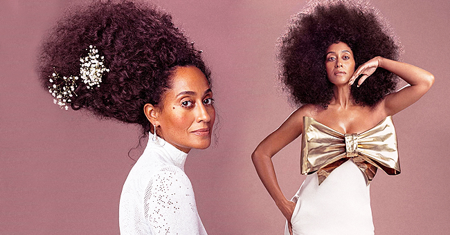 'Black-ish' Star Tracee Ellis Ross Flaunts Gorgeous Natural Curls in Series of Photos for Essence