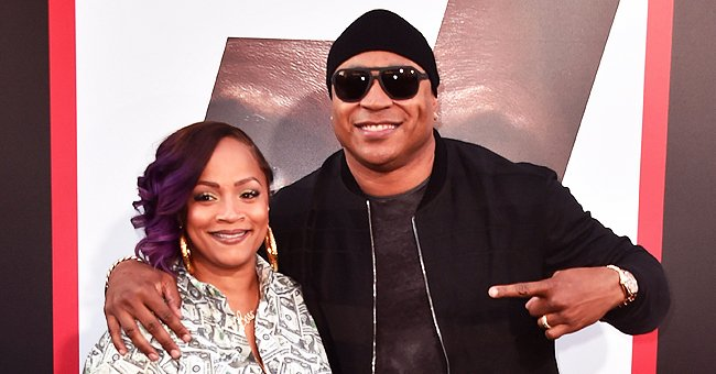 LL Cool J's Wife Simone Looks Breathtaking Rocking a Denim Suit & Striped Boots (Photo)