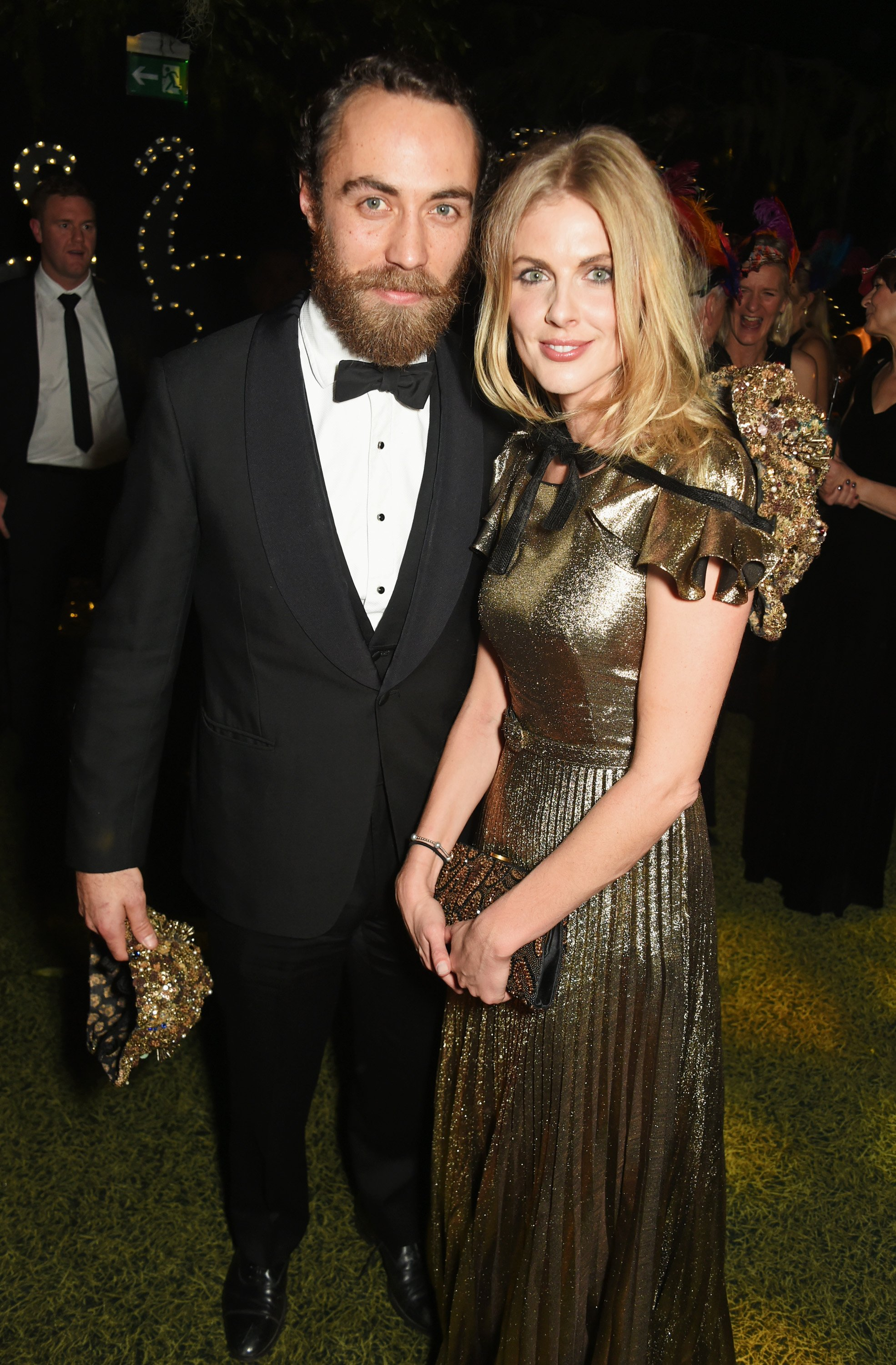 James Middleton and Donna Air attend The Animal Ball 2016 on November 22, 2016, in London, England. | Source: Getty Images.
