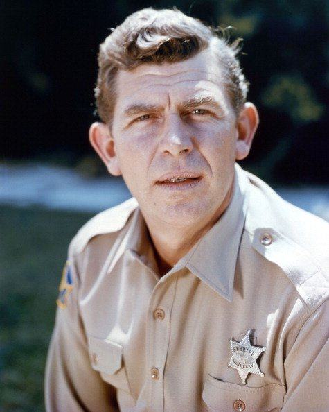 """Andy Griffith in a publicity portrait issued for the TV series, """"The Andy Griffith Show,"""" circa 1965.   Photo: Getty Images"""