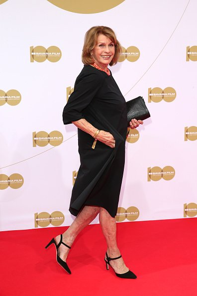 "Senta Berger, Bavaria Film Reception ""One Hundred Years in Motion"", München, 2019 