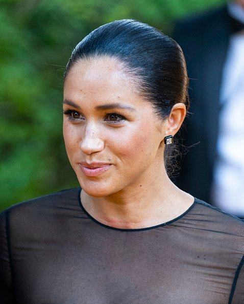 """Meghan, Duchess of Sussex at """"The Lion King"""" European Premiere in London.