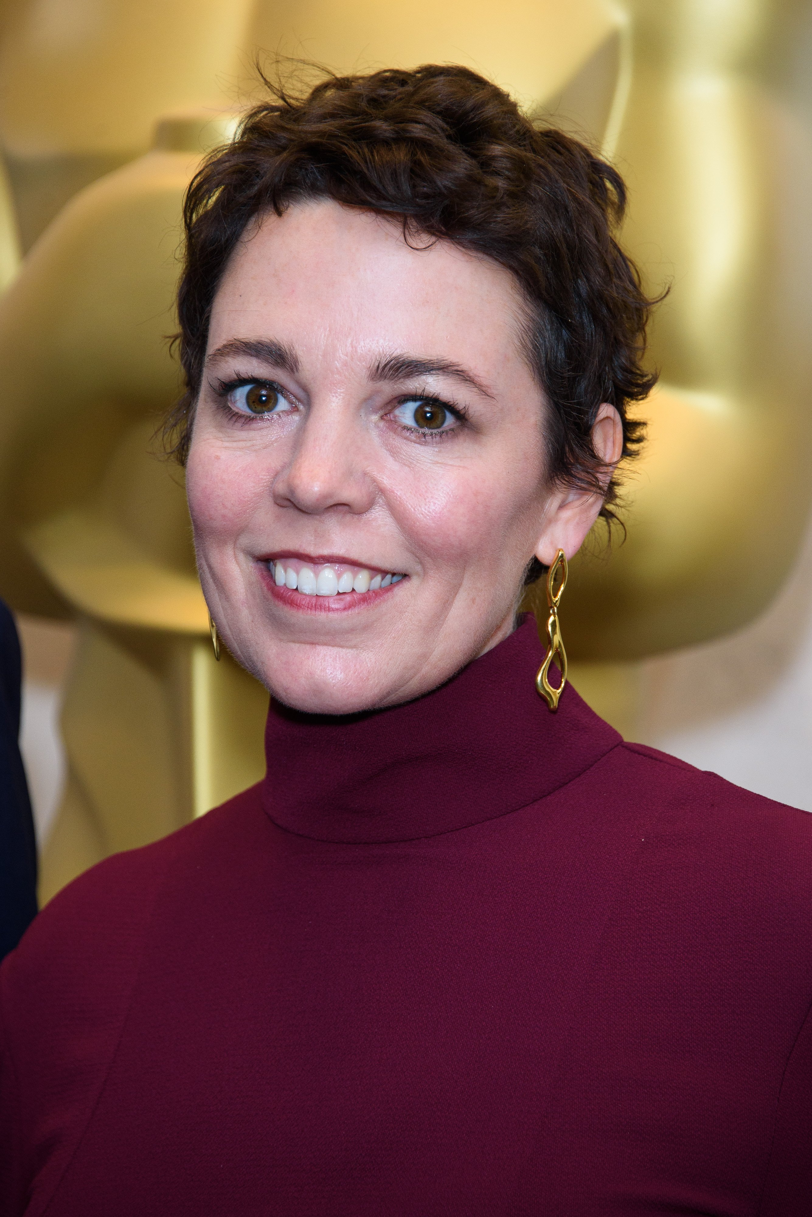 Olivia Colman attends the Academy of Motion Picture Arts and Scienes reception in London, England on October 13, 2018 | Photo: Getty Images