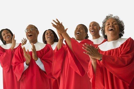 Jubelnder Chor | Quelle: Getty Images