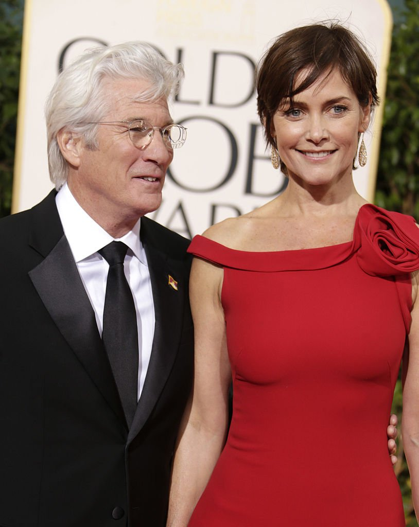 Richard Gere and Carey Lowell at the 70th Annual Golden Globe Awards on January 13, 2013 | Photo: Getty Images