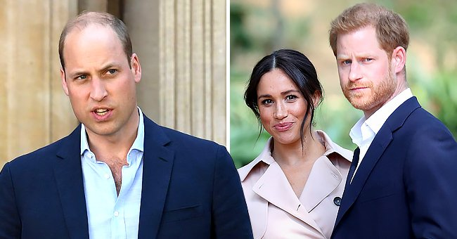 Page Six: Prince William Reacts with Concern about Prince Harry & Meghan's Upcoming Interview