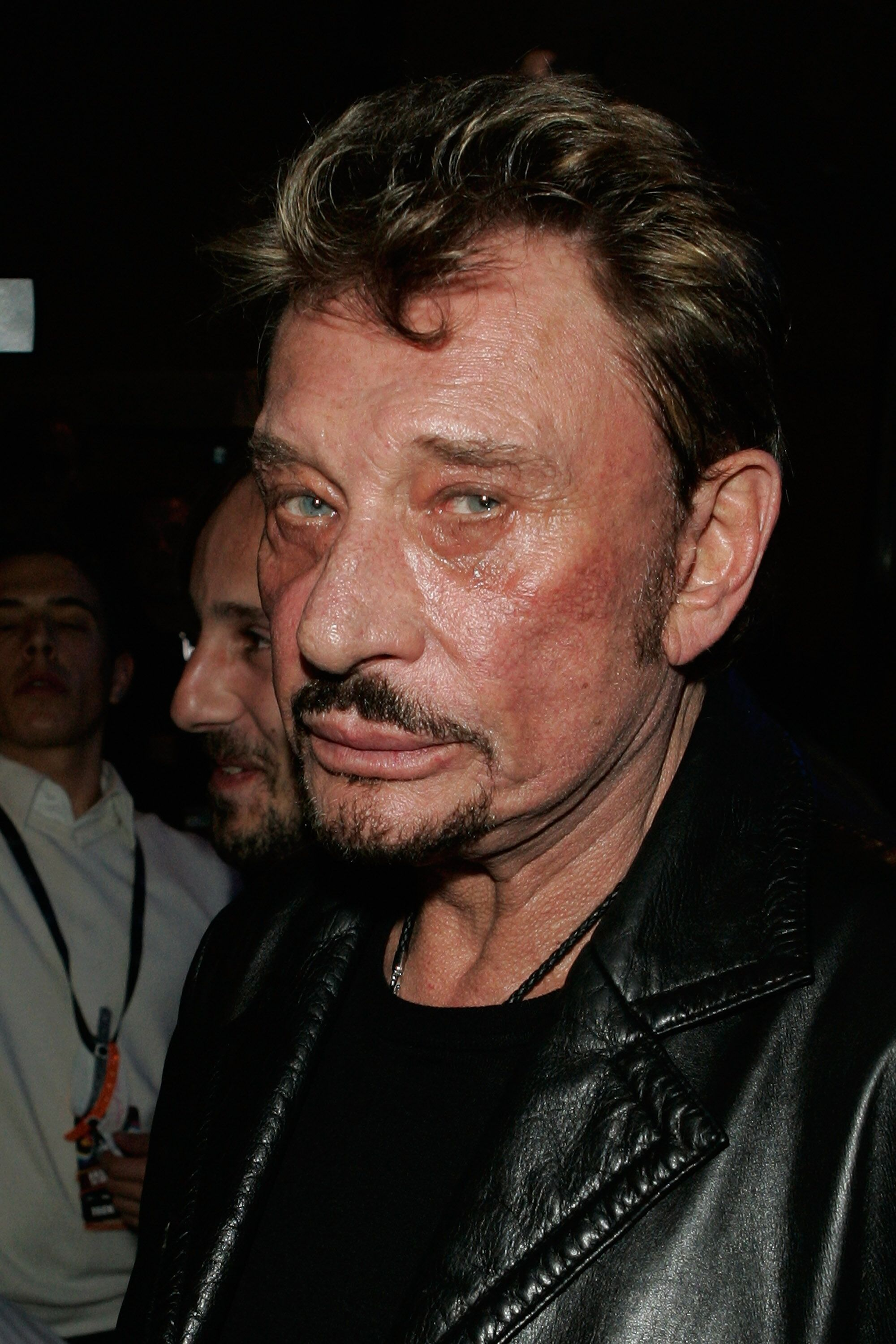Johnny Hallyday a assisté aux NRJ Music Awards 2008 à Cannes, en France. | Photo : GettyImage
