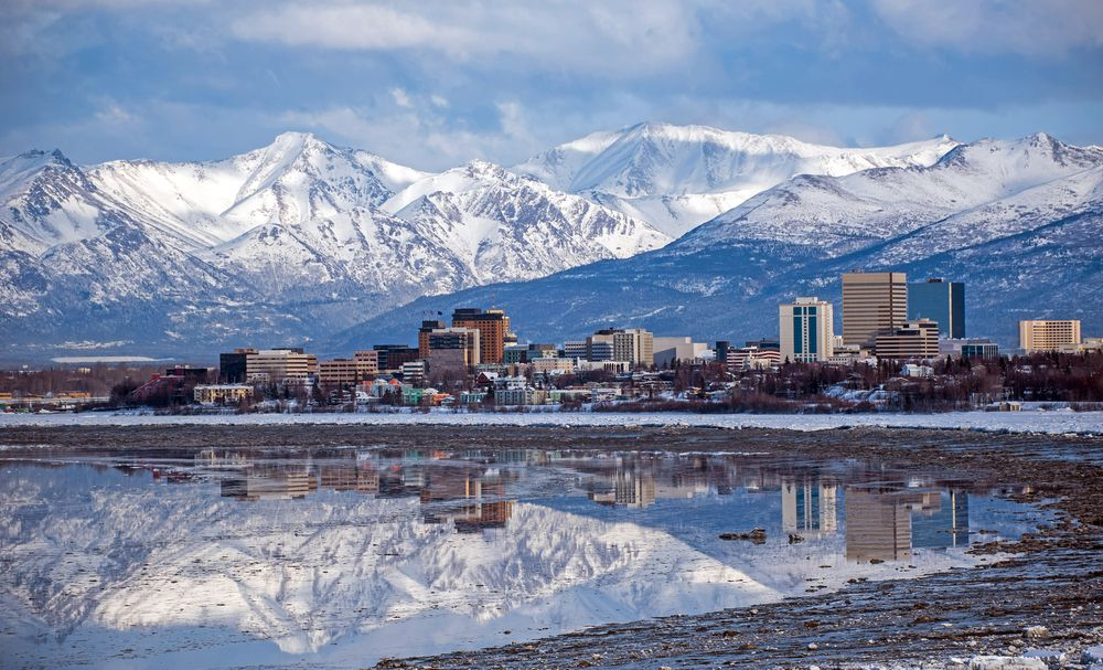 The city skyline of Alaska during day time. | Source: Shutterstock