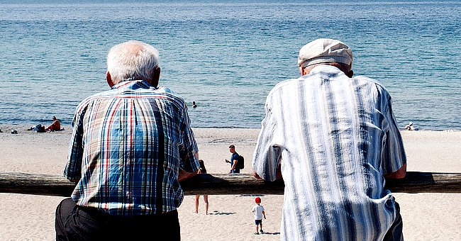 Daily Joke: Two Old Guys Were Sitting on a Park Bench