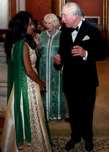 Prince Charles and the Duchess of Cornwall host the British Asian Trust Dinner at Buckingham Palace on February 5, 2019 in London, England.| Photo: Getty Images