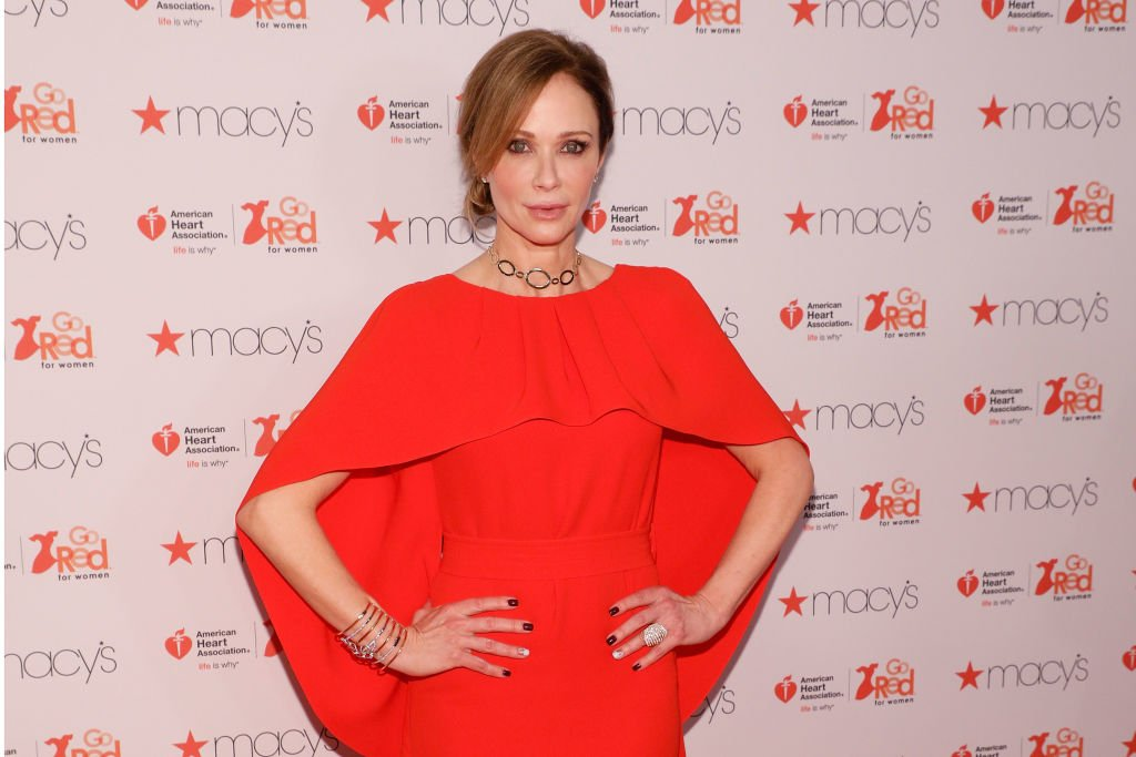 """Lauren Holly attends the """"Go Red for Women"""" fashion show at Hammerstein Ballroom on February 9, 2017   Photo: Getty Images"""