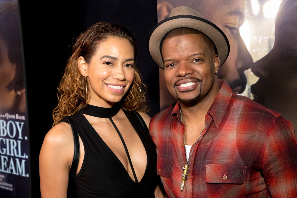 """Ricky Bell and Amy Correa Bell attend the Premiere Of """"A Boy. A Girl. A Dream."""" at ArcLight Hollywood on September 11, 2018 