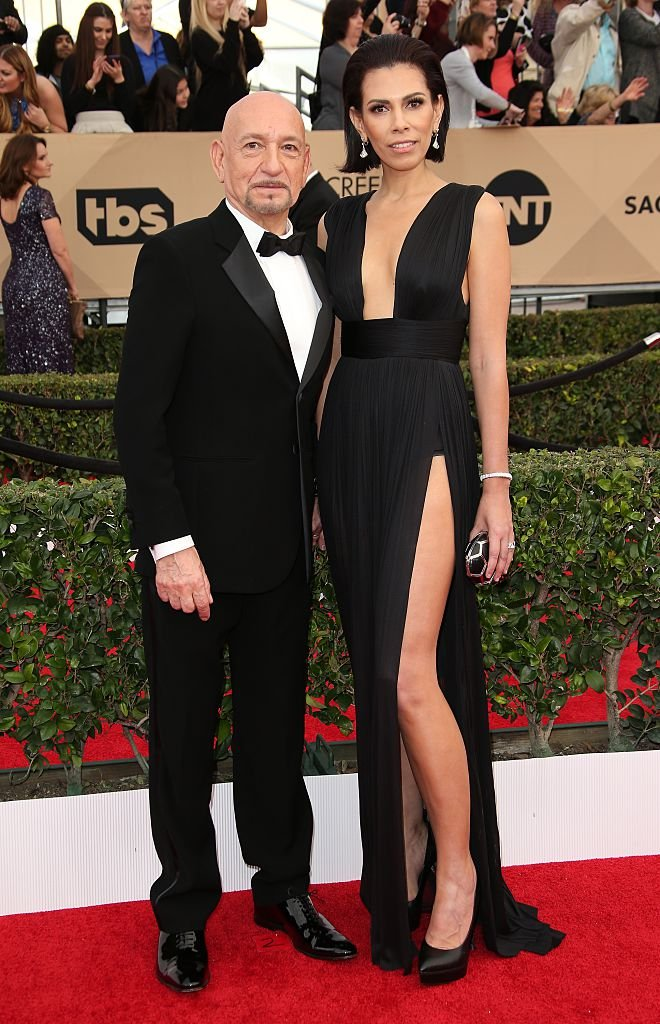 Ben Kingsley and Daniela Lavender attend the 22nd Annual Screen Actors Guild Awards at The Shrine Auditorium on January 30, 2016 | Photo: Getty Images