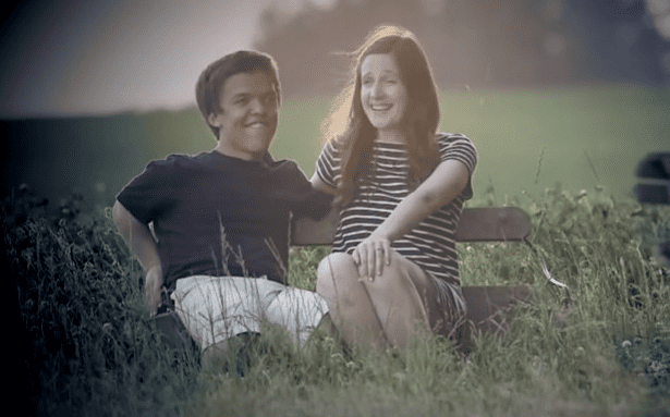 Zach and Tori Roloff spending time together outdoors. | Source: YouTube/The List.