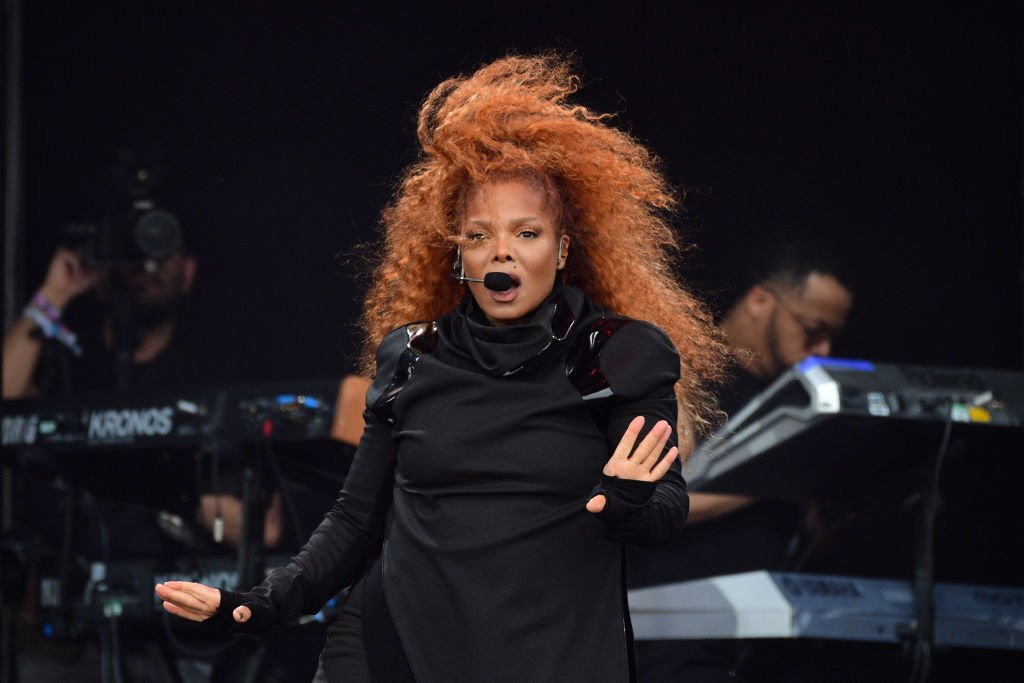 Janet Jackson performs on the Pyramid Stage on day four of Glastonbury Festival at Worthy Farm, Pilton in Glastonbury, England | Photo: Getty Images