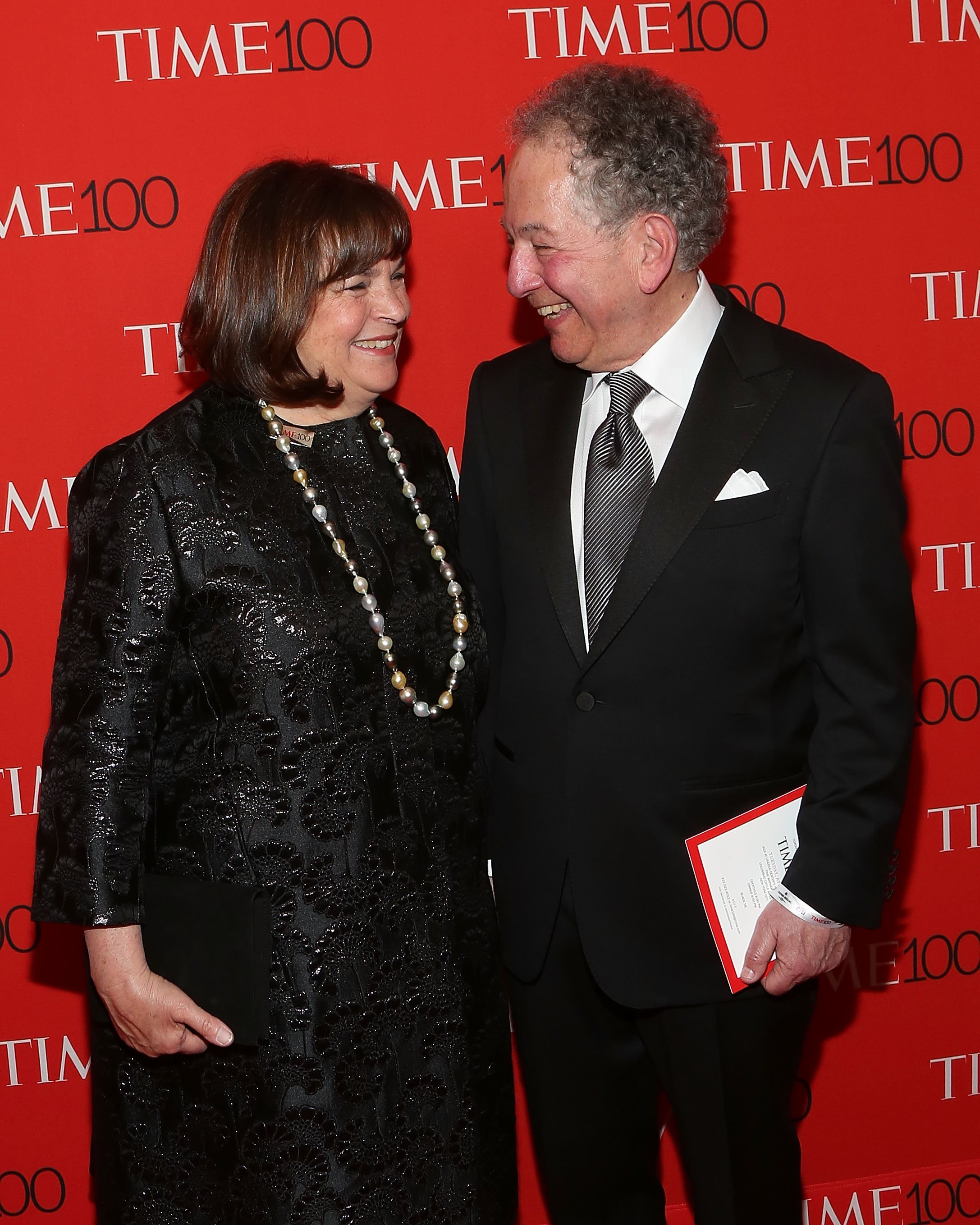 Ina Garten and Jeffrey Garten attend the 2015 Time 100 Gala. | Source: Getty Images